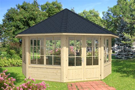 Gartenpavillon 4x4 by Gartenpavillon Modell Baltrum Mit Sieben Fenstern A Z