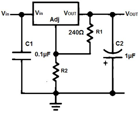 calculate resistor lm317 lm337 resistor and voltage calculator
