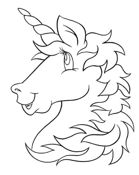 coloring pages unicorn head free colouring pages unicorn unicorn coloring pages free