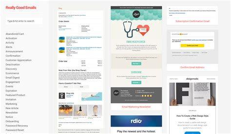 mailchimp layout exles email design inspiration mailchimp email marketing blog