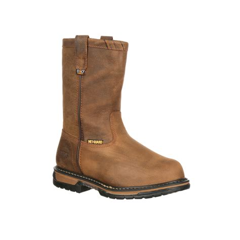 pungo ridge rocky s ironclad pull on work boots