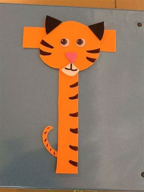 tiger crafts for tiger craft made from letter t 171 preschool and homeschool