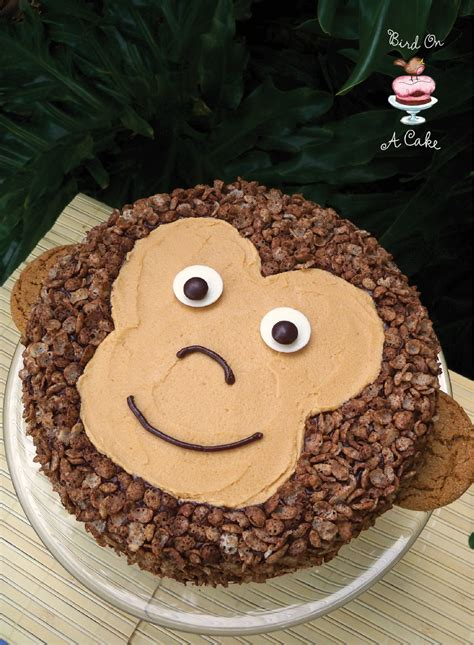 Cake Decoration Ideas At Home by Bird On A Cake Peanut Butter Chocolate Monkey Cake