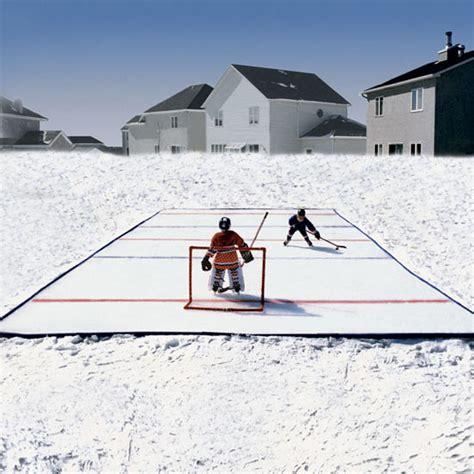 Skating Rink For Backyard by N Go Portable Backyard Skating Rink The Green