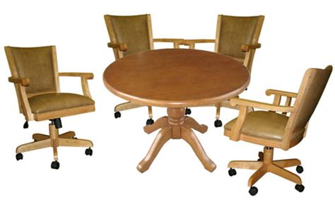 Kitchen Table Chairs With Wheels Kitchen Tables And Chairs With Wheels Marceladick