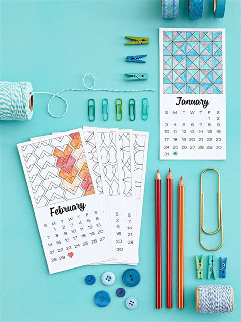 printable calendar 2016 diy 10 free printable calendars for 2016 the crafted life