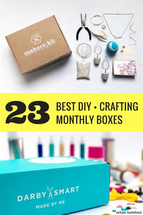 craft box subscription for 25 unique monthly subscription boxes ideas on