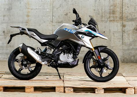lightweight motorcycle new bmw g 310 gs offers lightweight adventure with video