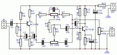 bc547 transistor nedir bjt transist 246 rl 252 ton kontrol devresi mono stereo tda2030 elektronik devreler projeler