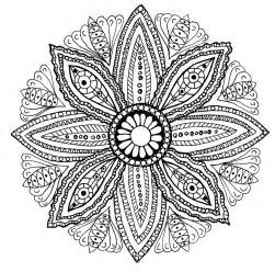 mandala leaves mandalas coloring pages for adults