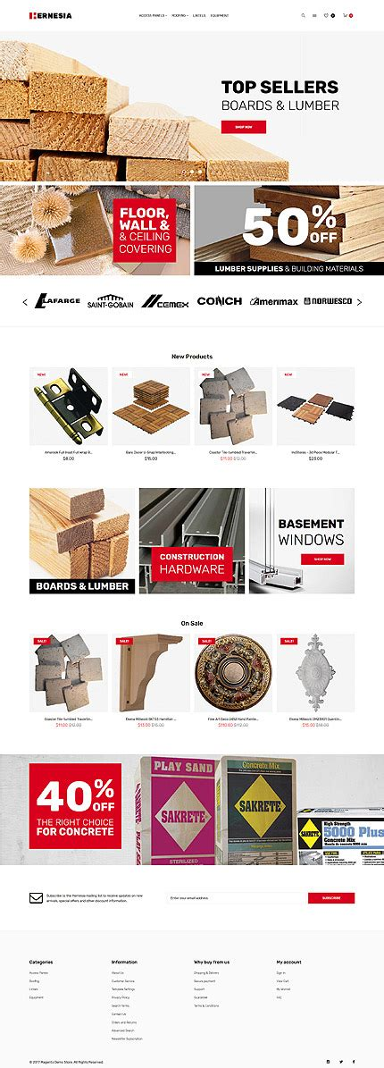 layout building instructions magento hernesia building materials responsive magento themes
