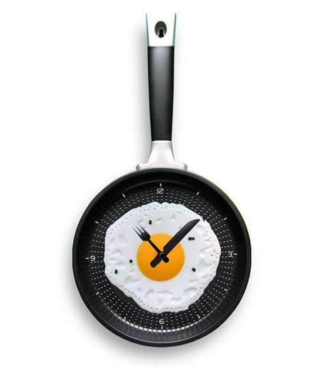Egg Pan Clock furniture bundlemagic