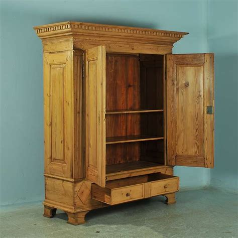 Antique Pine Armoire by Antique Large Pine Armoire Louis Xvi Circa 1790 1820 At