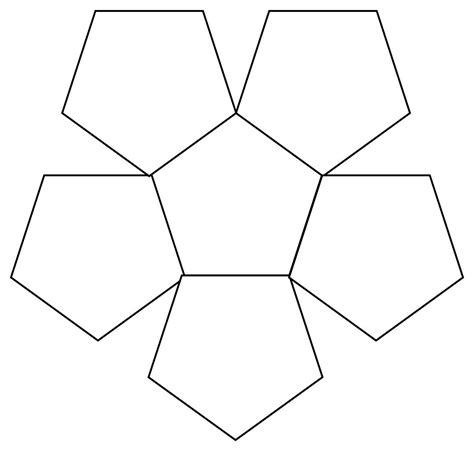 pentagon template 30 images of 3d pentagon template printable tonibest