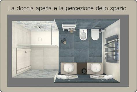 docce a parete la percezione dello spazio grazie alla doccia