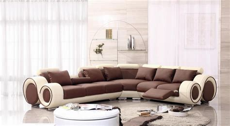 oversized leather sectionals furniture modern oversized leather sectional sofa in brown