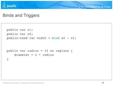 javafx trigger layout introduction to javafx with richard bair