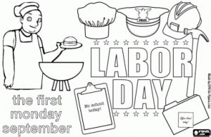 labor day coloring page kindergarten labor day coloring pages for kids preschool and kindergarten