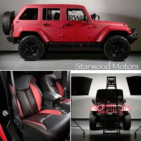 Custom Jeep Tops Starwood Custom Kevlar Jeep Wrangler W Lifted Offroad