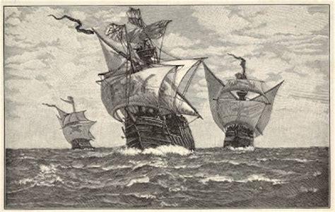 barcos animados de cristobal colon los viajes de crist 211 bal col 211 n dibujo de las tres carabelas