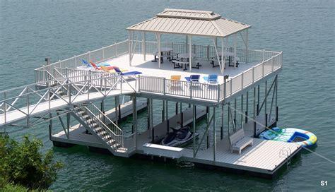 aluminum boat docks flotation systems sundeck boat dock gallery flotation