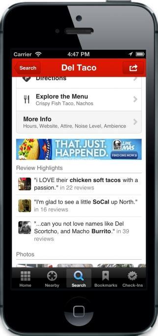 mobile display advertising yelp to start offering in app display advertising
