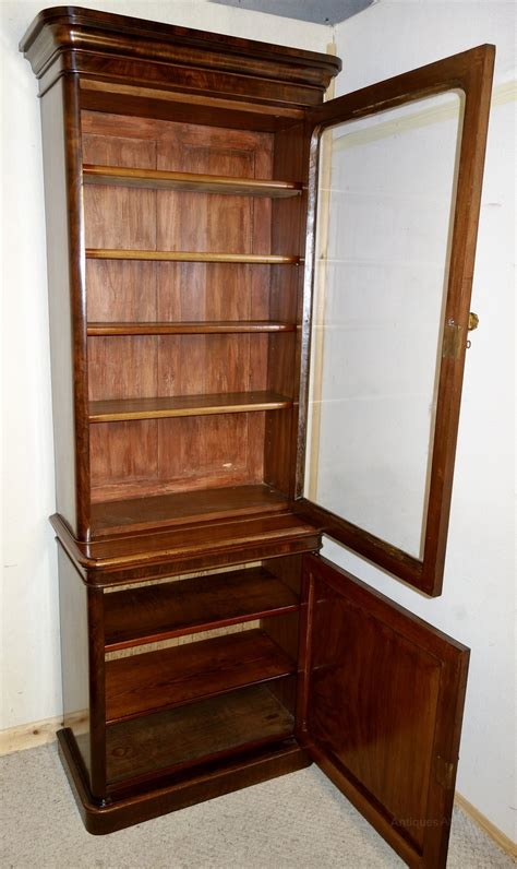 narrow mahogany bookcase narrow mahogany bookcase antiques atlas