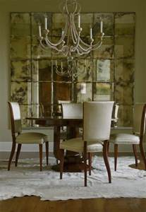 Dining Room Wall Mirrors Decorate Dining Rooms With Large Mirrors