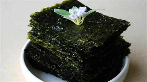 How To Make Seaweed Paper - korean style roasted seaweed gim gui 김구이