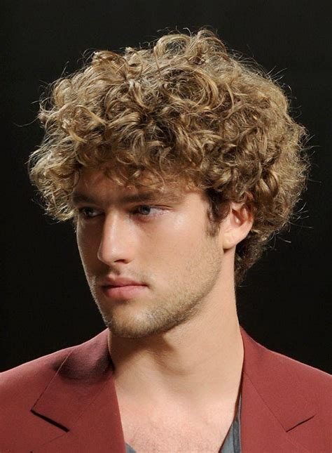 mens perm short hairstyles perm hairstyles for men