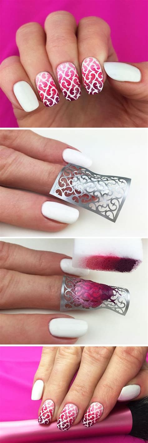 Nägel Muster by Fingerngel Muster Amazing Nailart Tutorial Schicke Muster