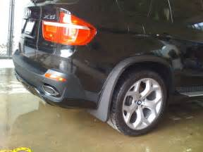 has anyone seen rear mud flap like these for a x53