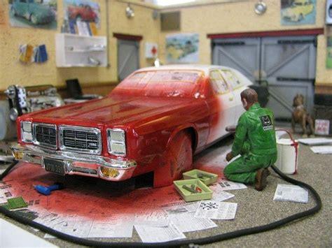 Model Car Garage Diorama Accessories by Paint Shop Diorama Model Garages 1 25
