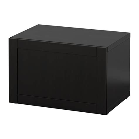 ikea besta shelf unit black brown best 197 shelf unit with door hanviken black brown 23 5 8x15 3 4x15 quot ikea