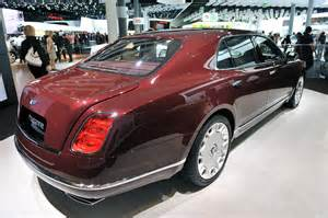 Bentley Mulsanne Executive Price Bentley Mulsanne Executive Interior Concept Is How To Roll