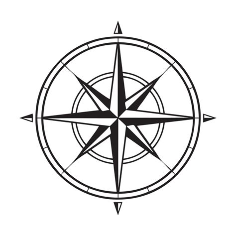 free coloring page compass rose compass vector graphics download free other vectors