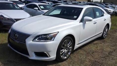 white lexus ls 460 white 2015 lexus ls 460 awd swb technology package review