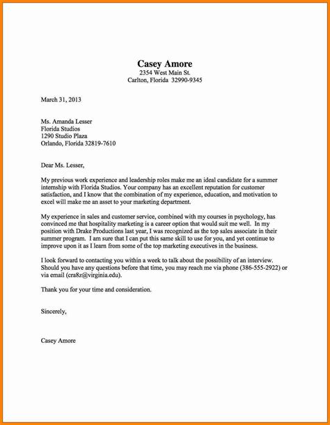 5 how to write a cover letter exle assembly resume