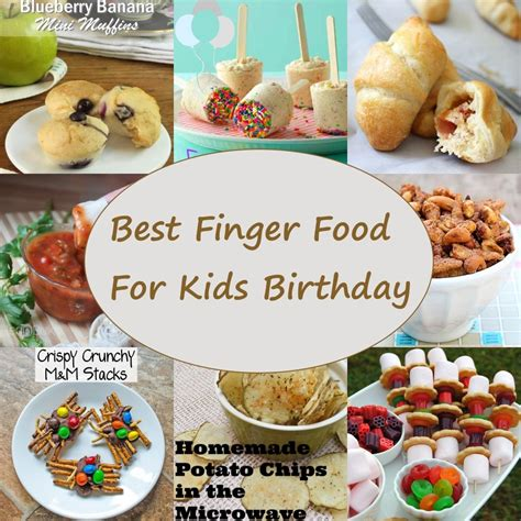 finger foods for finger food for birthdays delicious and easy to make