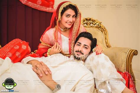Ayeza Khan and Danish Taimoor Got Married (Nikkah Pictures