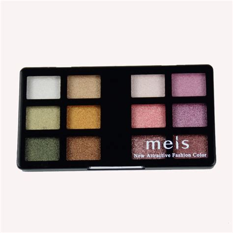 Eyeshadow Mukka 12 Pallete aliexpress buy meis professional makeup pigment