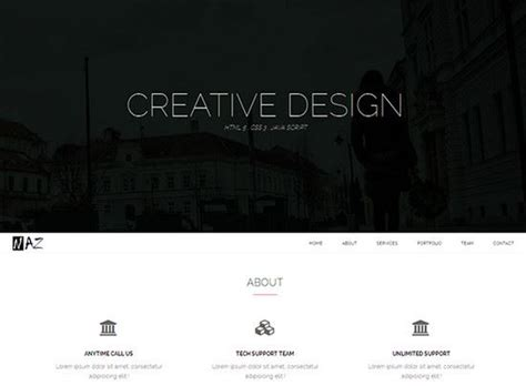 Free Css Website Templates by 100 Best Free Html Css Website Templates