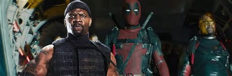terry crews role in deadpool 2 deadpool 2 terry crews s mystery role revealed in new