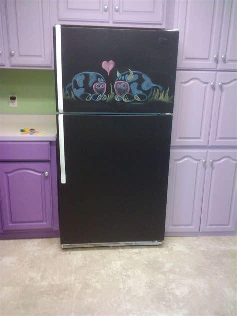 chalkboard paint refrigerator 25 best ideas about chalkboard paint refrigerator on