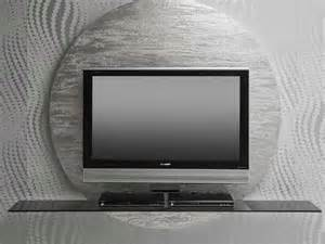modern tv contemporary round black white tv stands from pacini