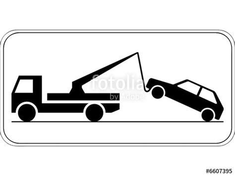 Auto Abgeschleppt by Quot Abschleppen Schild Quot Stockfotos Und Lizenzfreie Vektoren