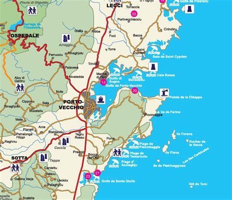 porto map porto vecchio area map