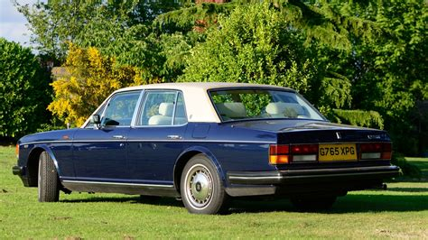 rolls royce dark blue rolls royce silver spirit dark blue 1989