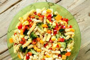 Pasta Salad Vegetarian by Summer Vegetable Pasta Salad Recipe