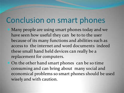 Smart phones and how they affect our lives